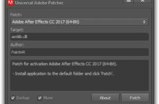 Universal Adobe Patcher 2019