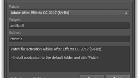 Universal Adobe Patcher 2019