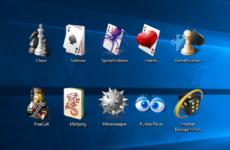 Стандартные игры для Windows 7 скачать